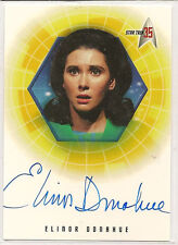 Star Trek 35th Anniversary TOS Autograph Card A24 Elinor Donahue Commish Hedford