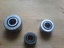 1 Stk. Laufrolle / Stützrolle  NUTR-15 / NUTR15.A  Fabrikat IBU  15x35x19 mm