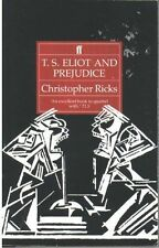 T S Eliot and Prejudice-ExLibrary