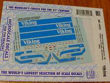 Microscale Decal HO  #MC-4203 Viking Freight Trailer - 28' - Tractor Dates:1990+