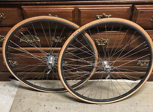 Vintage Bicycle Parts. MAVIC MA-40 Wheelset. SUNTOUR SPRINT Hubs
