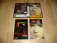 RESIDENT EVIL CODE VERONICA X + DEMO DEVIL MAY CRY FOR PS2 UK VER. USED COMPLETE