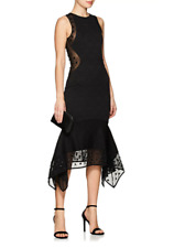 60% OFF | BNWT OPENING CEREMONY BLACK MEDALLION JACQUARD SEQUIN DRESS OC RARE