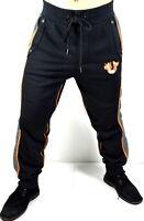 True Religion $139 Men's Slim Cuff Horseshoe Logo Sweatpants - 101336