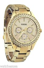 Fossil Women's Stella Multi-function Metal Strap Quartz Watch ES3101