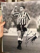 Paul Alberto Gazza Newcastle PIC FR ex agente OFFERTA Fr £ 15
