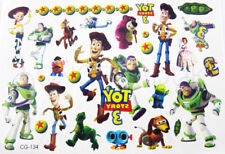 1  X TOY STORY, BUZZ - WOODY  Temporary Body Tattoo Sheets-  PARTY BAG FILLERS,