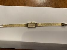 Cyma Ladies 14kt Gold Watch