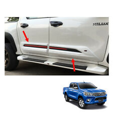 Body Cladding Trim Guard White 4 Doors To Toyota Hilux Revo Pickup 2015 16 2017