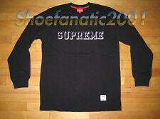 Supreme L/S Athletic Tee Large Black Blazer SB Dunk Three Six Mafia Box Logo