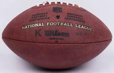 "WILSON NFL CHICAGO BEARS? GAME USED K KICKING FOOTBALL ""THE DUKE"" WEEK 8-9"