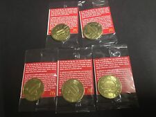 McDonalds 50 Years Of Big Mac Collectors Coin ** MacCoin ** COMPLETE SET * RARE