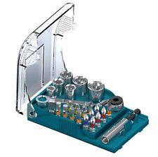 German Made Heller 24 PC Universal Bit Set Mini Socket Wrench Mechanic/tool