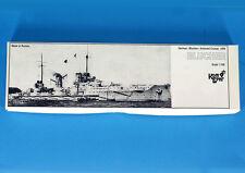 KOMBRIG COMBRIG 70253 resin kit 1:700 BLUCHER German Armored Cruiser , 1909