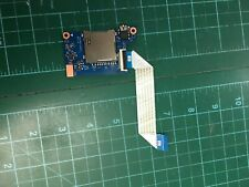 "Hp ProBook 440 G5 14"" Laptop Audio Jack Card Reader Board W/ Cable Dax8Bath6B0"