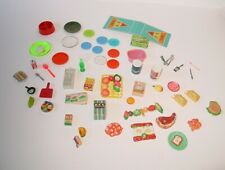 Lot of 50+ My Merry & Deluxe Reading Miniatures ~ 1960s ~ Kitchen Items