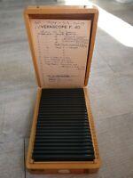 Rare Verascope F 40 stéréoscope 25 vues couleurs Italie en Sicile ,Enna,1959 (43