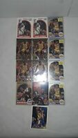 Lot of 13 Magic Johnson,L.A. Lakers Basketball Cards, Fleer Metal, '89 All Star+