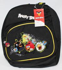 Angry Birds Mochila Bolsa de los Niños 30cm Negro
