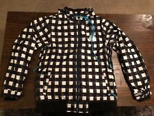 Black And White Nomis Snowboard Jacket Ski Jacket Winter Men's Large