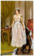 Wall Art 1953 Coronation Portrait of Queen Elizabeth II of the United Kingdom