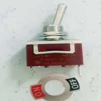 1pcs SPST Heavy Duty ON OFF CAR BOAT Latching  Locking Toggle Switch 9v-12v-110v