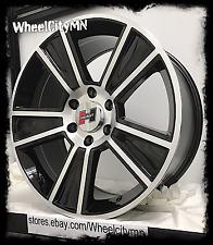 22 inch black Hurst Stunner wheels Ford F150 Expedition Lincoln Navigator 6x135