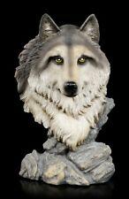 Wolf Büste - Spirit of Freedom - Nemesis Now Wölfe Hund Welp Dekostatue