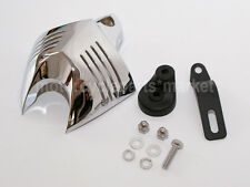 Chrome V-Shield Horn Cover Cowbell For Harley Softail Dyna ALL V-RODA 1992-2012