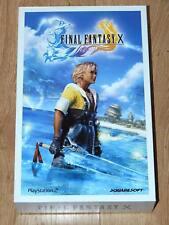 █R█A█R█ Final Fantasy 10 X PS2 NEW Press Kit Promo with Yuna RARE HOLY GRAIL █