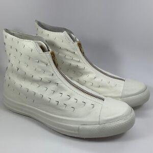 Converse Chuck Taylor Shroud Perforated HI Leather Men's 5.5 Women's 7.5 551581C