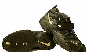 Nike Air Turf Raider Loop & Stick Closure, Black, White, Gray size 10 580401-001