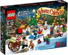 LEGO CITY 60063 - CITY ADVENT CALENDAR - RETIRED - BNISB - MELB SELLER