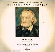 Wagner: Overtures; Tristano, Tannhauser, I Maestri Cantori / Karajan LP Columbia