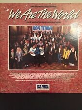USA For Africa We Are The World 1985 LP With Various Artists