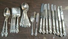 27pc 1847 Rogers Bros HERITAGE Silver Plated Set