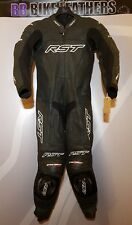 RST TracTech Evo One Piece Motorcycle Leather Race Suit - EU 50 / UK 40 - Black