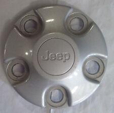 Jeep Wrangler 2007 - 2017 Silver OEM 16 Inch Wheel Center Cap 9072 1AH90TRMAC
