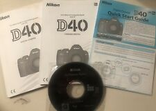 Nikon D D40 6.1Mp Digital Slr Camera - Black (Kit w/ Af-S Dx 18-55mm Lens)