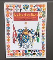 JOUBERT. Portfolio Les lys et les lions Signé . Alain Gout 1947