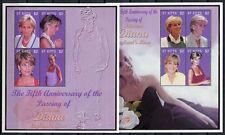 St. Kitts 2002 Lady Diana Royalty Brit. Königshaus 715-722 Postfrisch MNH