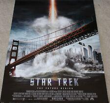 "STAR TREK ""The Future Begins"" 27x40 Theatrical Poster GoldenGate Bridge MINT-NEW"
