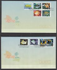 Australia 2010 Fishes of the Reef FDC Set of 3 (Fish Creek, VIC 3959)