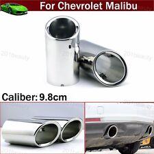 2pcs Exhaust Muffler Tail Pipe Tip Tailpipe Trim For Chevrolet Malibu 2009-2018