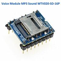 Tiny U-disk audio play TF SD Card MP3 Sound Voice WTV020-SD-16P Module F Arduino