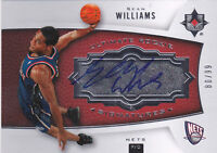 2007-08 Ultimate Collection #143 Sean Williams RC Auto #/99