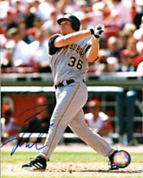 Craig Wilson Autographed / Signed Hitting 8x10 Photo