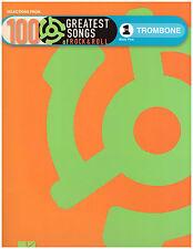 100 Rock & Roll Songs ~ Sheet Music for Trombone ~ Beatles, Elvis, Van Morrison
