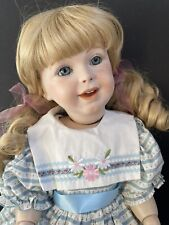 """Vintage 21"""" Reproduction of Antique French SFBJ 236 Smiling Girl Doll"""