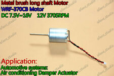 370 DC12v mini Motor 3705RPM Large Torque long axis low noise Metal brush Motor